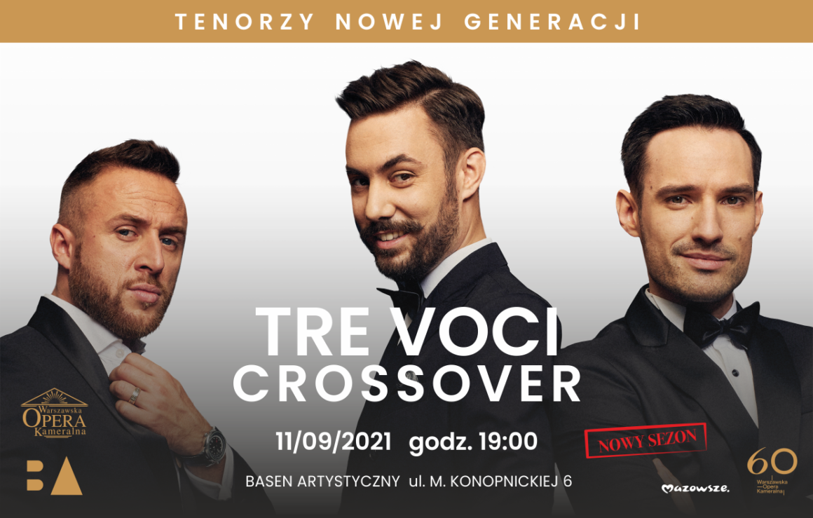 Crossover: TRE VOCI